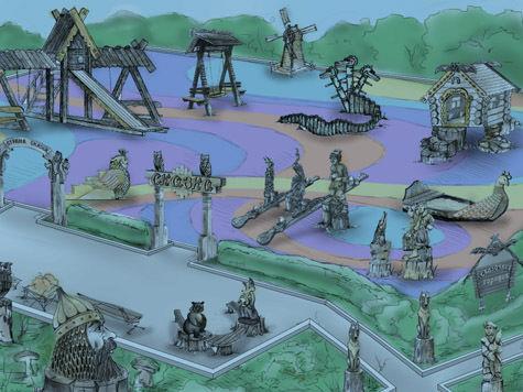 В Москве поставят памятник Бабе-яге
