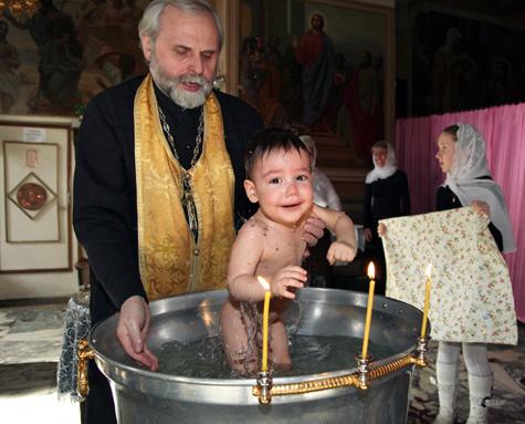 Долой крещение на скорую руку