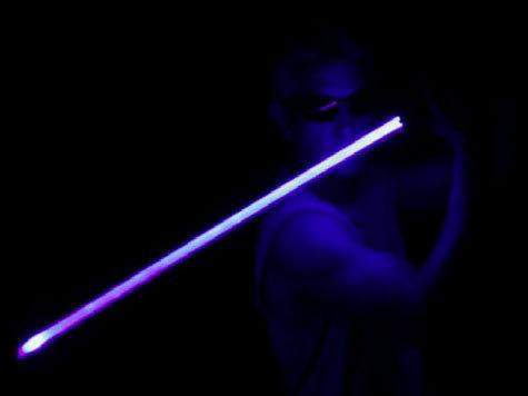 Победоносный световой меч из