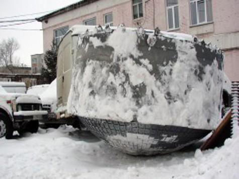 На сибирских просторах найден странный