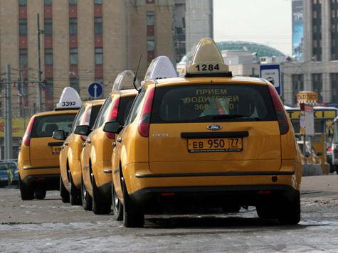 Московские таксисты не исключают забастовок