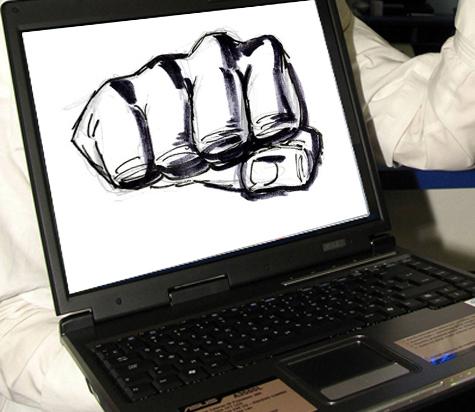 Провокатор устроил национальный конфликт в интернете