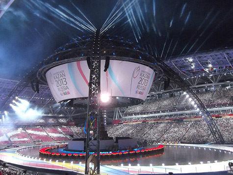 Спортивные игры накрыли Казань