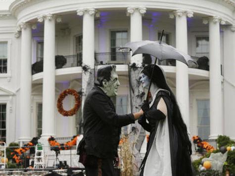 Барак и Мишель Обама навели ужас на Белый дом