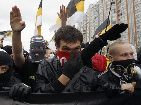 """В """"Русском марше"""" приняли участие около 10 тысяч человек"""
