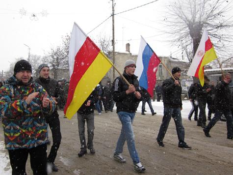 Южной Осетии предстоит горячий тур