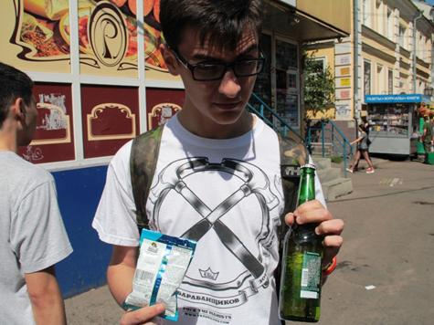 «Молодая гвардия» вербует малолетних провокаторов для борьбы с детским пьянством