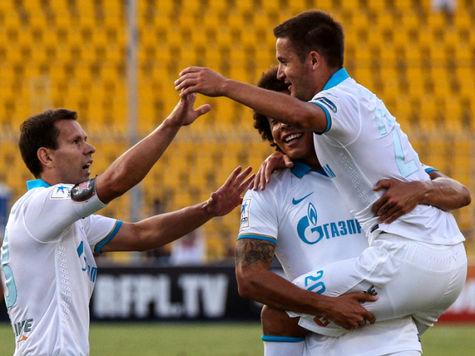 «Зенит» победил «Спартак» в Лиге чемпионов по доходам