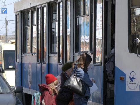 Трамваям нашли работу на время ремонта