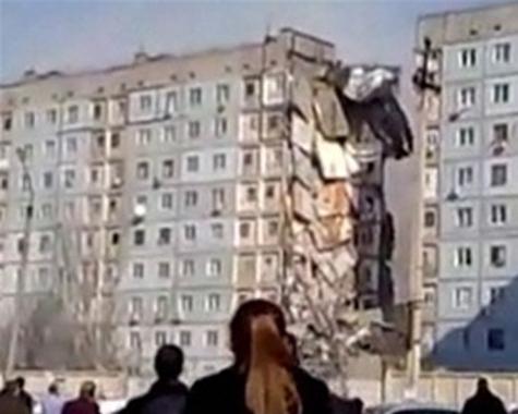 Дом взорвался от семейного очага