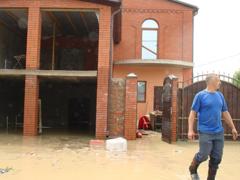 Спутники прояснили наводнение