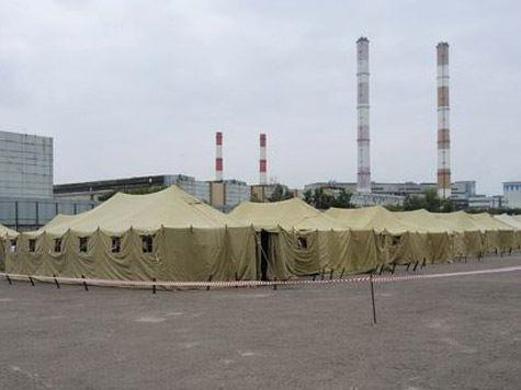 Нелегалам в палаточный городок завезли 2 тонны риса