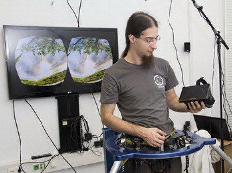 Революционная установка переносит движения тела в виртуальную реальность