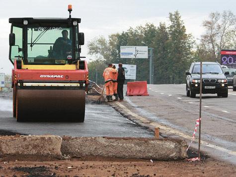 В России дорог строят мало
