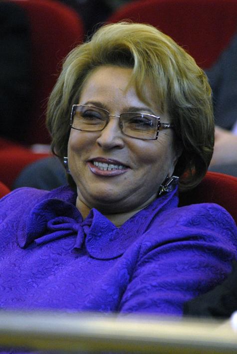 Матвиенко попросит Собянина поддержать болгарских соотечественников