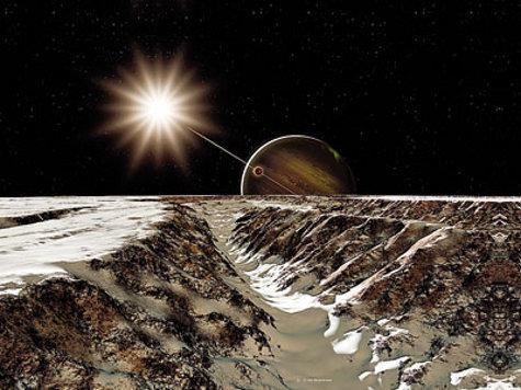 Земные бактерии могут жить на спутнике Юпитера