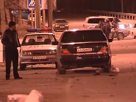 Террористка взорвала полицейских