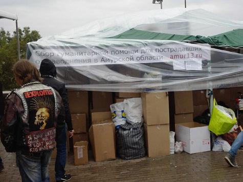 В Москве собирают помощь жертвам наводнения