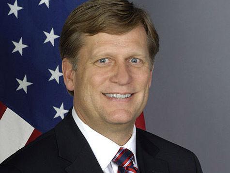 Посол США Майкл Макфол «глубоко разочарован» приговором Навальному