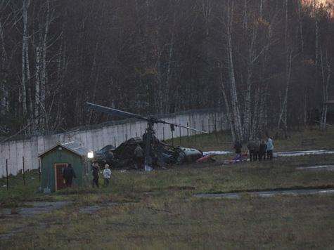 Эксперт считает, что вертолет «Акула» рухнул в Жулебино из-за трещины в лопасти