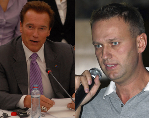 Навальный затравил Шварценеггера