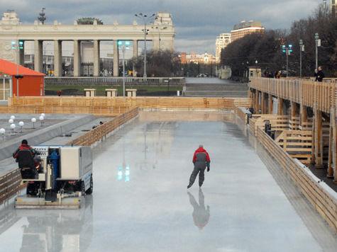 В московских парках открывается зимний сезон
