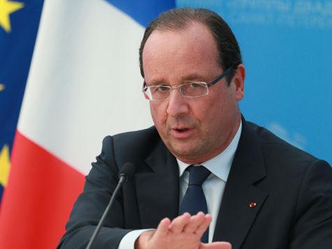 Олланд назвал слежку США за французами неприемлемой