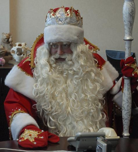 Дед Мороз против митингов