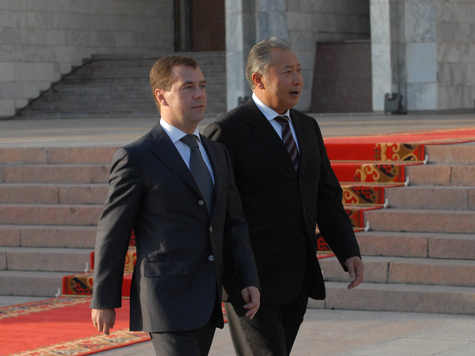 Россия вылетит из Киргизии?