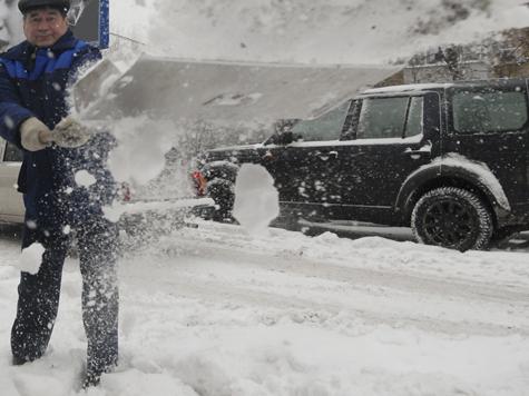 Италия во власти холода и снега