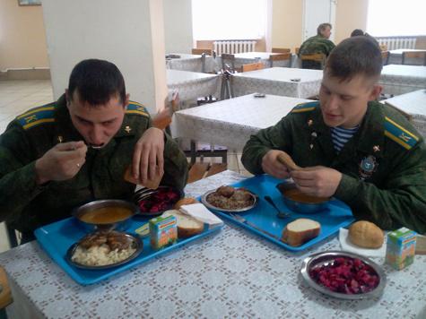 Российской армии наняли нянек