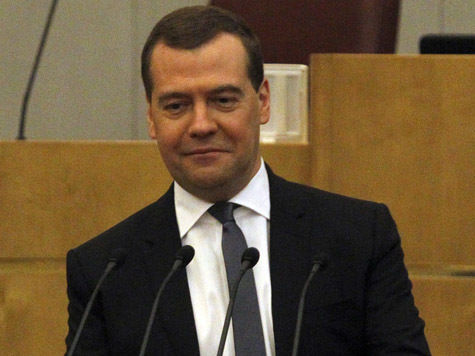 Медведев нажал на газ