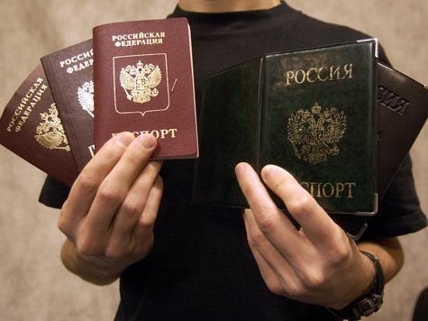 Чиновникам запретили портить бесхозные паспорта