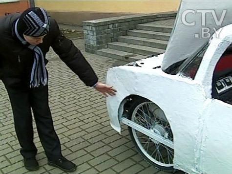 Белорусский школьник изобрел новый электромобиль