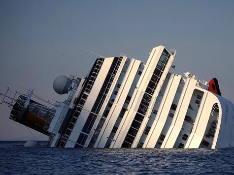 «Конкордия» породнилась с «Титаником»