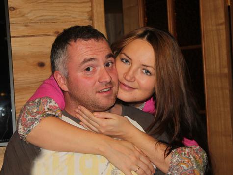 Роман Петров с женой Татьяной.