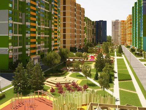 Городские многоэтажки украсят керамикой