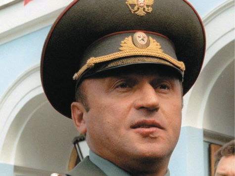 Шойгу открыл памятник Павлу Грачёву