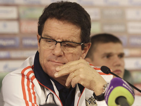 Капелло ищет в Бразилии жилье для сборной России