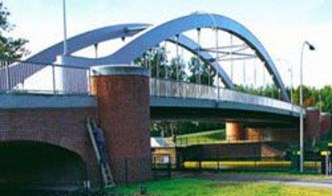 Немцы построили первый в мире мост с подогревом