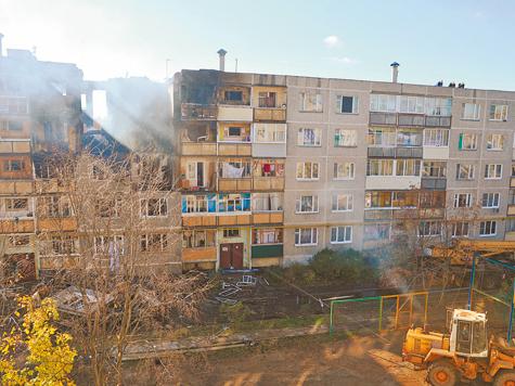 Люди готовы жить на месте взрыва