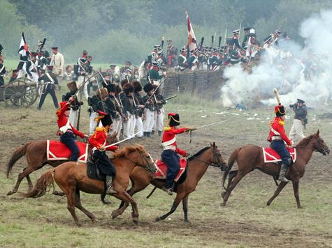 Французы ждут русские полки
