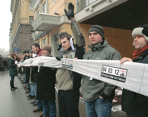 Оппозиция окрутила Кремль