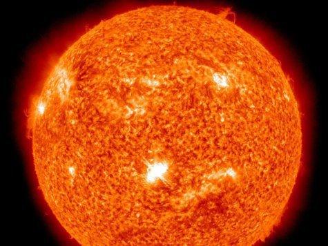 Солнце ударило по Земле