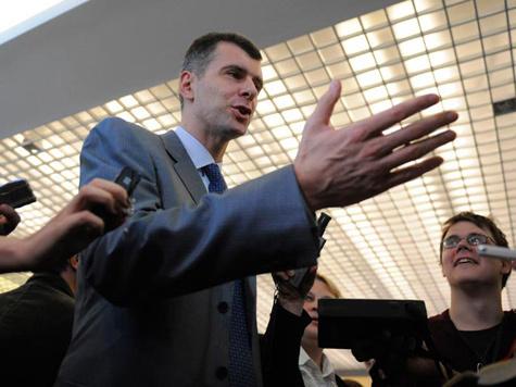 Прохоров — вне политики?