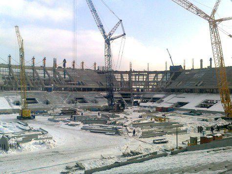 У стадиона «Спартака» из проблем остались только дороги