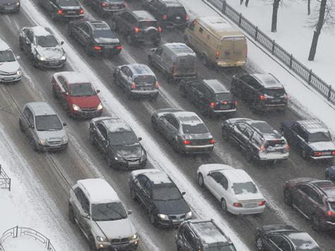 Зима вернулась в Москву ненадолго