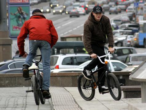 Велосипедисты освоят морское дно