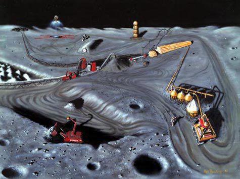 Запад хочет превратить Луну в ресурсный придаток Земли