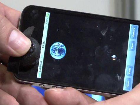 Специально для смартфонов изобрели примочку-джойстик. ВИДЕО